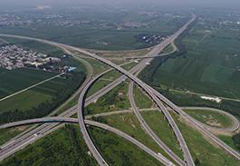 京昆高速曲阳桥互通