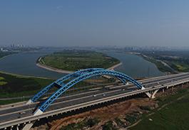 张石高速中华大街北出口支线滹沱