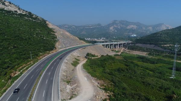 南二环西延跨石太高速
